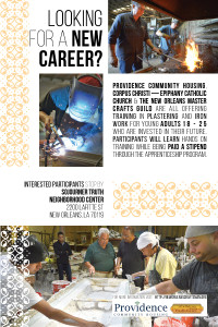 New Orleans Master Crafts Guild Apprenticeship Program